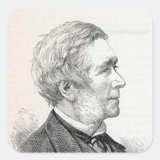 Dr. John Hullah Square Sticker