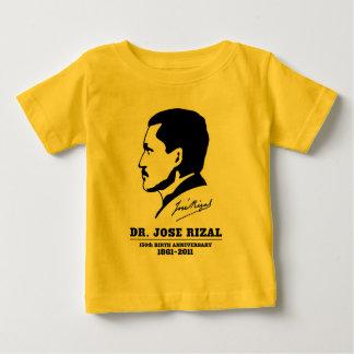 Dr. Jose Rizal @ 150th Birth Anniversary Souvenirs Baby T-Shirt