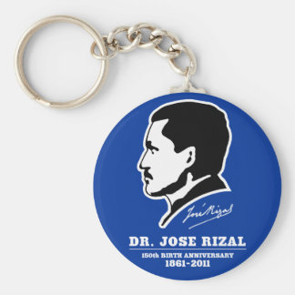Dr. Jose Rizal @ 150th Birth Anniversary Souvenirs Keychain