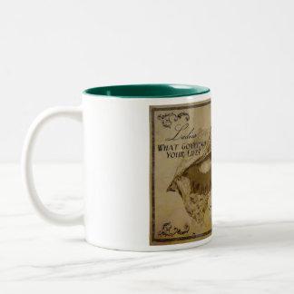 Dr. Lemur's Chocolates Two-Tone Coffee Mug