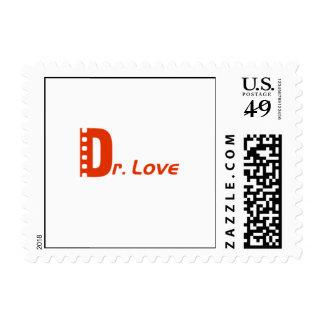 Dr. Love Logo Postage 0.41