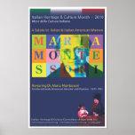 Dr. Maria Montessori Poster