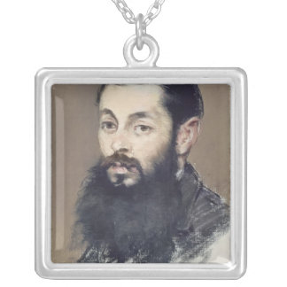 Dr. Materne, doctor of Napoleon III  c.1880-81 Silver Plated Necklace