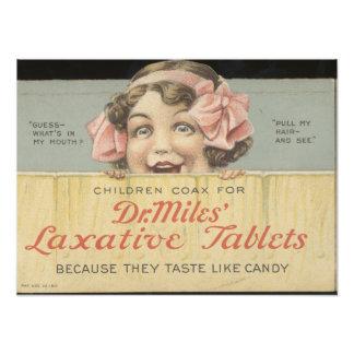 Dr. Miles Laxative Tablets Ephemera Photo Print