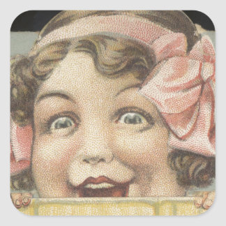 Dr. Miles Laxative Tablets Ephemera Square Sticker