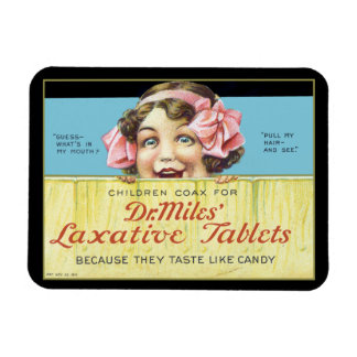 Dr. Miles Laxative Tablets Flexible Magnets