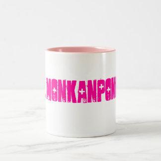 Dr. MONKANPONKAN Two-Tone Coffee Mug
