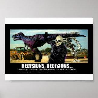 Dr. Mortose Commands Decisions mini-poster Poster