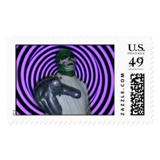 DR. MORTOSE Hypno-Ray Postage Stamp