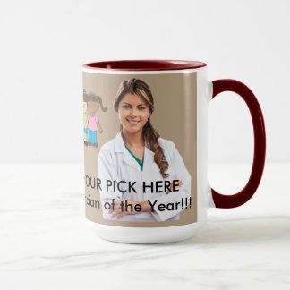 Dr. Mug, Your Custom 15 oz Ringer Mug