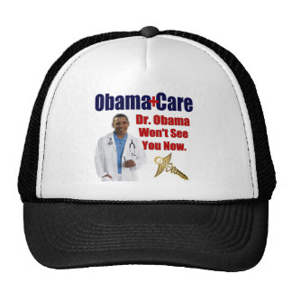 Dr. Obama Won't See You Now Hats