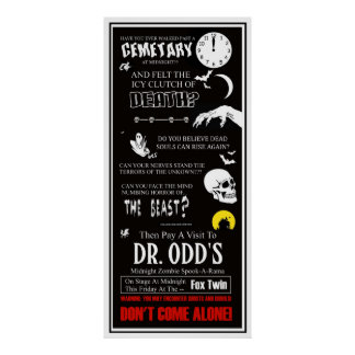 Dr. Odd At The Fox Twin Theater Poster