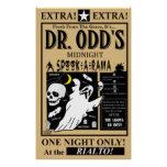 Dr, Odd's Spook-A-Rama Poster