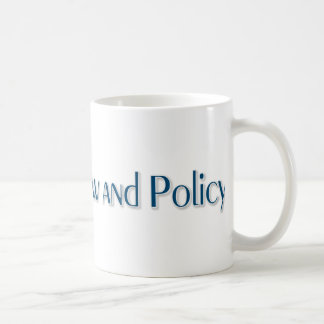 DR of Law and Policy Coffee Mug