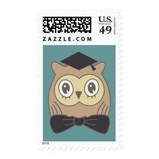 Dr. OWL Graduate Postage Stamp