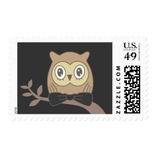 DR. OWL POSTAGE STAMPS