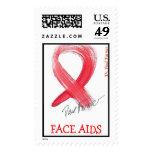 Dr. Paul Farmer Ribbon Postage Stamp