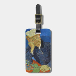 Dr Paul Gachet by Vincent van Gogh 2nd Version Bag Tag