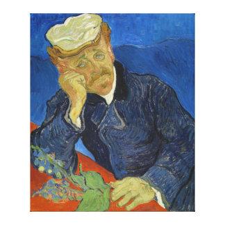 Dr Paul Gachet by Vincent van Gogh 2nd Version Canvas Print