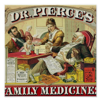 Dr Peirce s Family Medicines Posters
