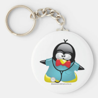 Dr Penguin Keychains
