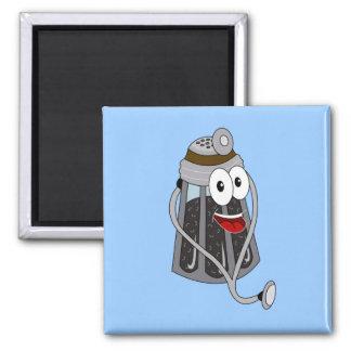 Dr. Pepper Shaker 2 Inch Square Magnet