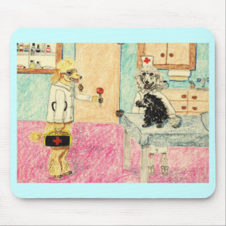 Dr. Poodle And The Lollipop Mouse Pad