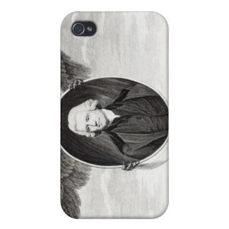 Dr. Priestley, illustration from Philosophers iPhone 4 Cases