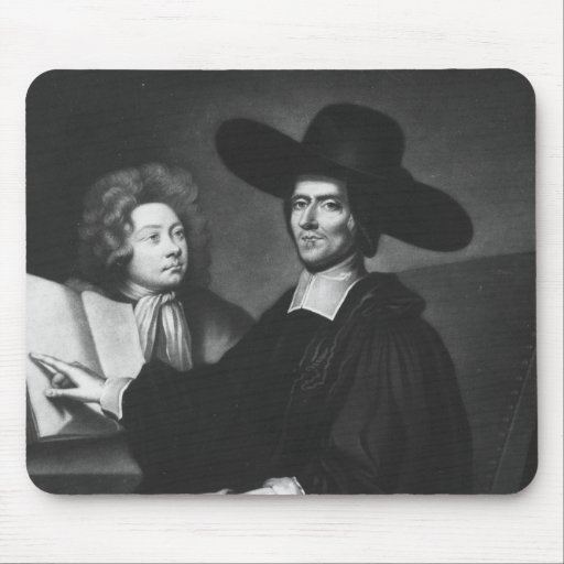 Dr Richard Busby  engraved by James Masson Mouse Pad