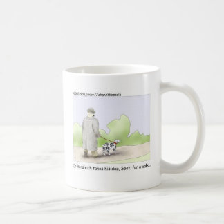 Dr. Roarshach Cartoon Gifts, Tees, & Collectibles Coffee Mug