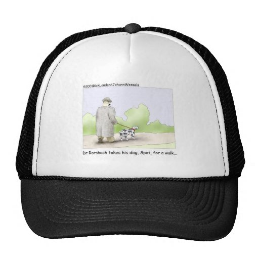 Dr. Roarshach Cartoon Gifts, Tees, & Collectibles Trucker Hat