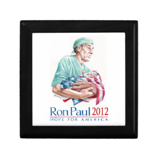 Dr. Ron Paul 2012 For President Jewelry Box