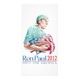 Dr. Ron Paul 2012 For President Picture Card