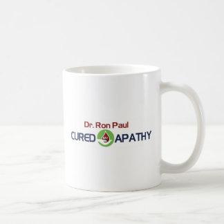 Dr. Ron Paul Cured My Apathy Coffee Mug
