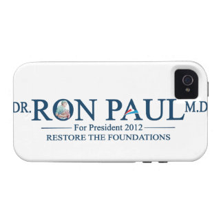 Dr. Ron Paul M.D. For President 2012 Case-Mate iPhone 4 Cover