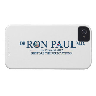 Dr. Ron Paul M.D. For President 2012 iPhone 4 Case-Mate Case
