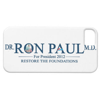 Dr. Ron Paul M.D. For President 2012 iPhone 5 Case