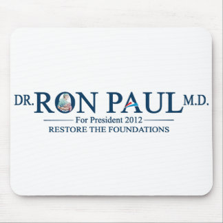 Dr. Ron Paul M.D. For President 2012 Mouse Pad