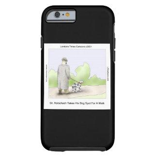 Dr Rorschach & Dog Spot Funny iPhone 6 Snap Case