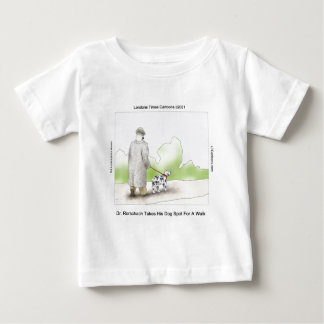 Dr Rorschach Takes Dog Spot 4 A Walk Funny Baby T-Shirt