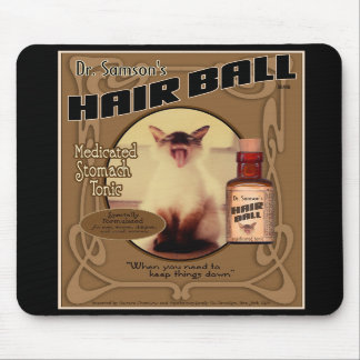 Dr. Samson's Hair Ball Tonic mouse pad