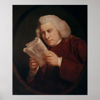 Dr. Samuel Johnson  1775 Poster