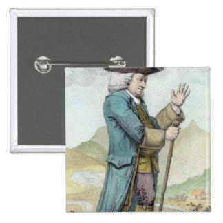 Dr Samuel Johnson 2 Inch Square Button