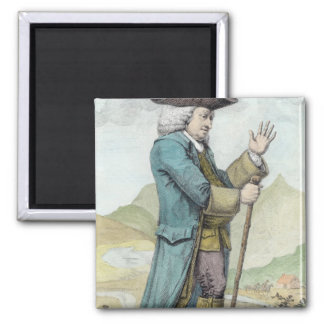 Dr Samuel Johnson 2 Inch Square Magnet