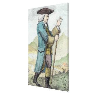 Dr Samuel Johnson Canvas Print