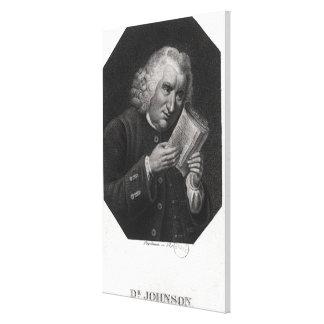 Dr. Samuel Johnson Canvas Print