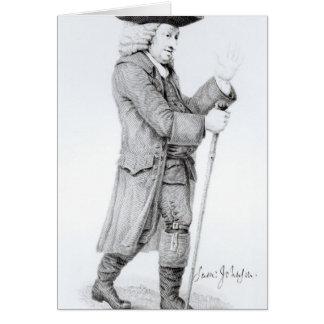 Dr Samuel Johnson Greeting Card