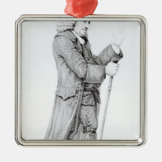 Dr Samuel Johnson Metal Ornament
