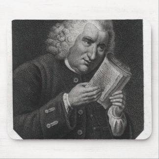 Dr. Samuel Johnson Mouse Pad