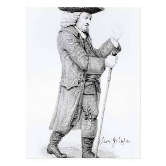 Dr Samuel Johnson Postcard